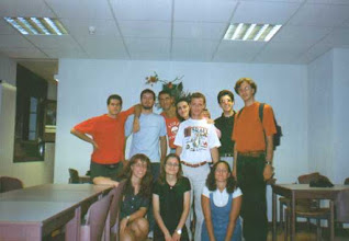 Photo: The ITALIAN CERN summer intern in 1998