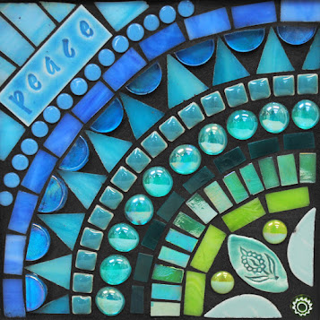 Peace in Aqua by Brenda Pokorny