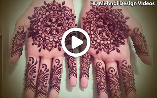 Simple Mehndi Designs Videos Tutorial Mehndi 2018 1.2 screenshots 2
