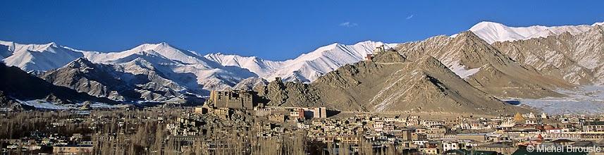 "Photo: Leh, ""capitale"" du Ladakh"