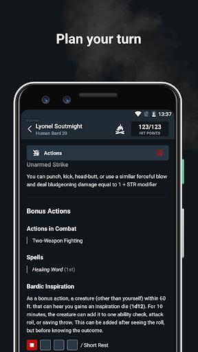 D&D Beyond Player Tools screenshot 4