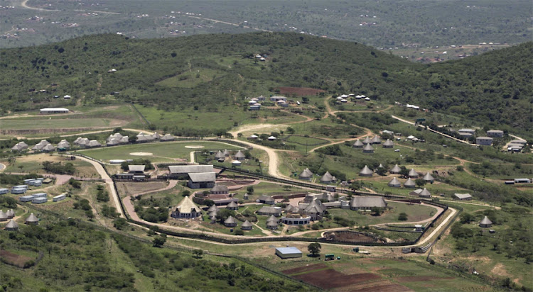 President Jacob Zuma's Nkandla homestead in KwaZulu-Natal. Picture: SUNDAY TIMES