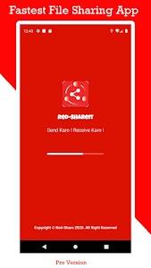 Red-Shareit-Share - File Transfer & share apps 1.1