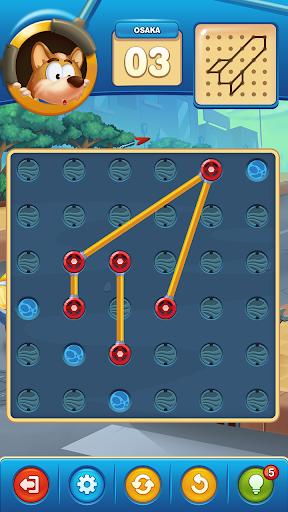 Line Puzzle : Free Puzzle Game 2019  captures d'écran 2