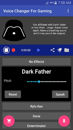 Voice Changer Mic for Gaming - PS4 XBox PC 0.10.76 screenshots 2
