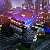 3D Monster Truck Pilot Flying Car Android APK Download Free By 3MenStudio