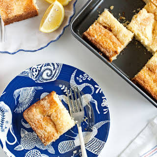 Lemon-Cream Cheese Coffee Cake.