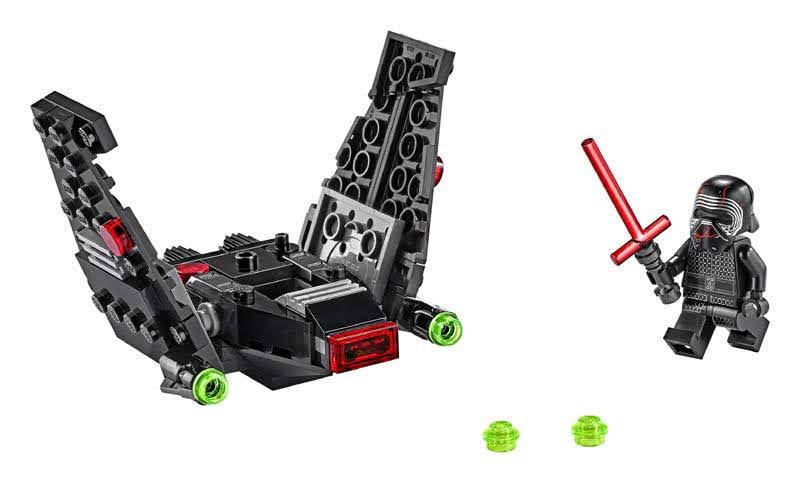 Contenido de Lego® 75264 Microfighter: Lanzadera de Kylo Ren