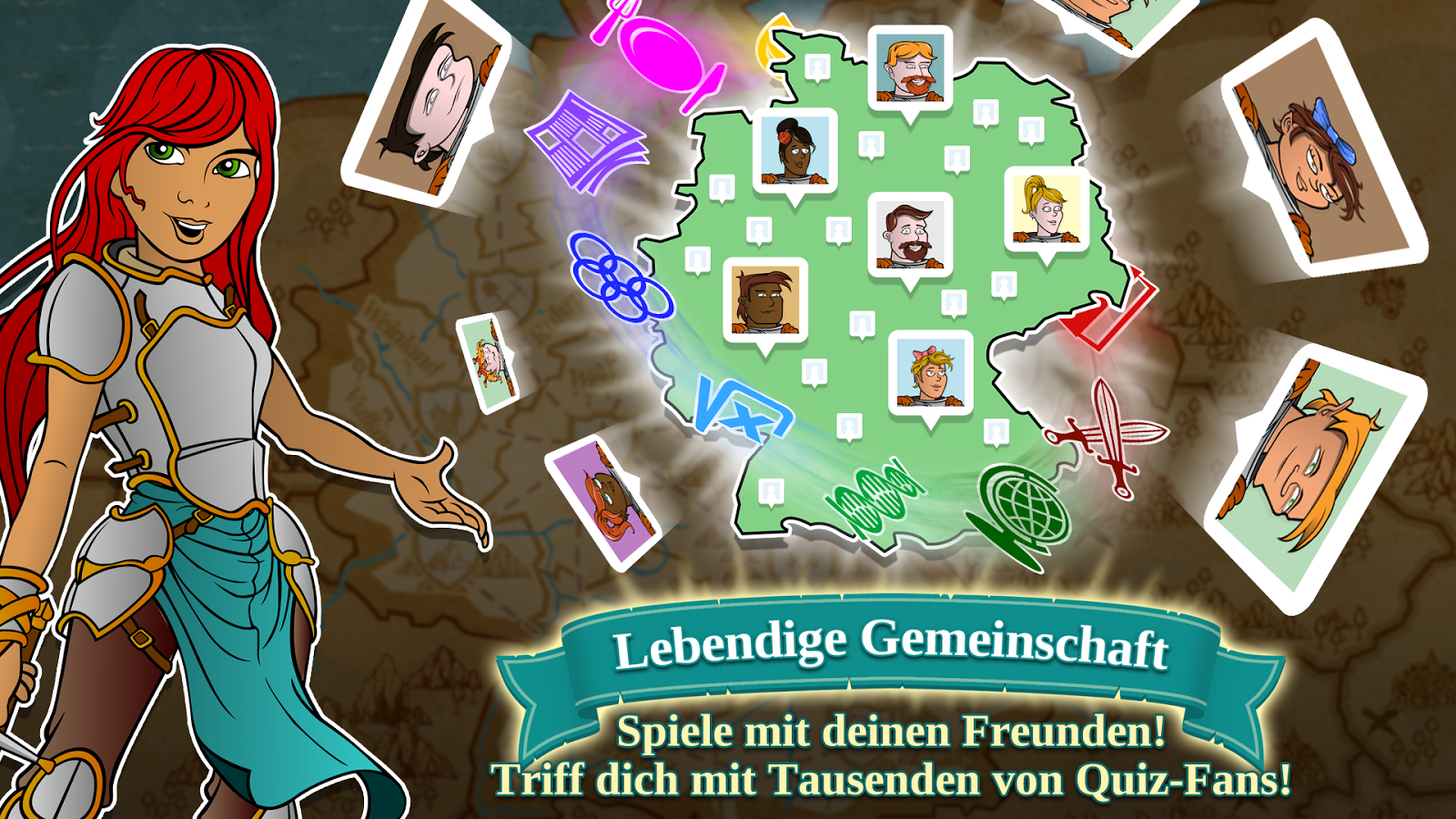 Triviador Deut­s­c­h­land- screenshot