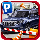 Multi Level Prado car Parking mania Game