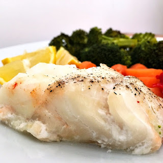Cod Loin With Vegetables