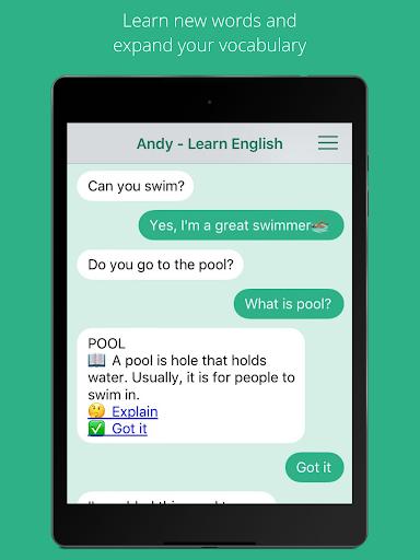 Andy - English Speaking Bot screenshot 6