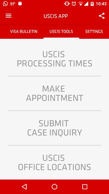 #8. USCIS Case Status (Android)