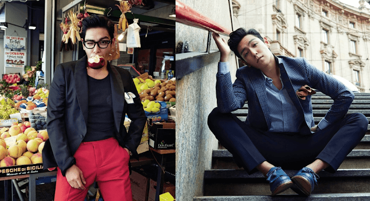 Big Bangs Top Poses In The City For Vogue Magazine
