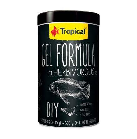 Tropical Gel Formula Herbivore 1000ml/105g 3x35g