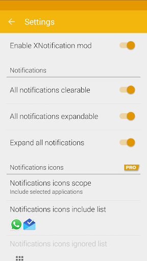 Download APK: XNotifications v2.3.2 [Pro]
