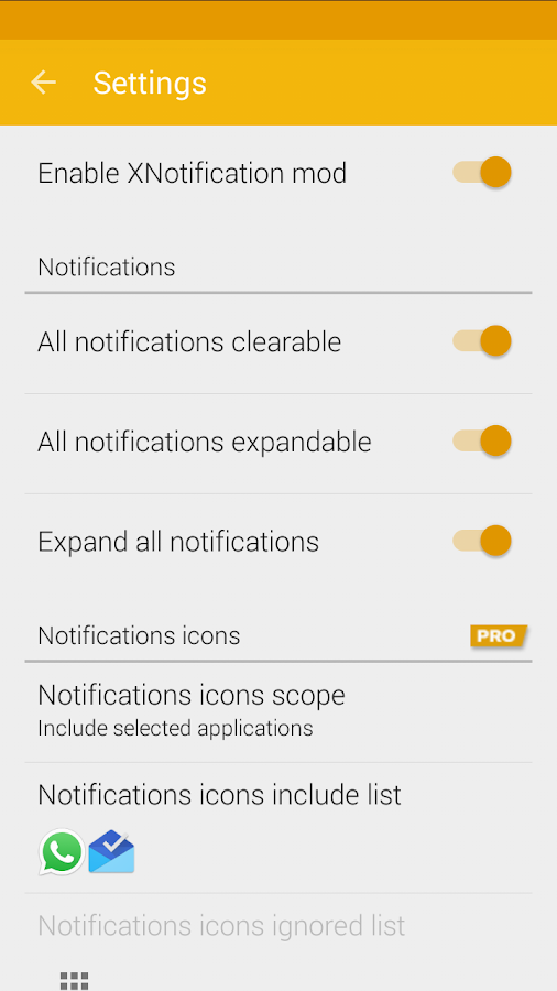XNotifications- screenshot