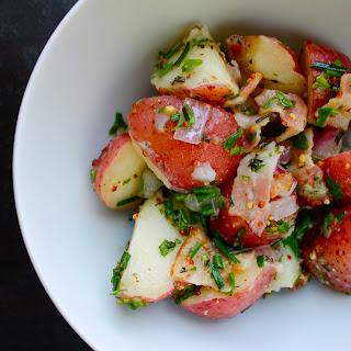 Potato Salad With Herbs And Bacon Vinaigrette
