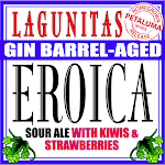 Lagunitas Barrel Aged Eroica W/Kiwis & Strawberries