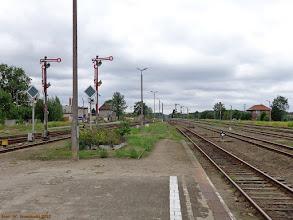 Photo: Infrastruktura stacyjna (część zachodnia) {Czersk; 2013-07-19}