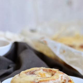 Cinnabon style Cinnamon Rolls with Cream Cheese Frosting