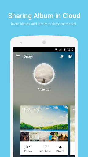 Duopi -Organize Share Photos