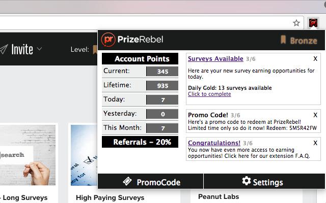 PrizeRebel - Online Paid Surveys for Money