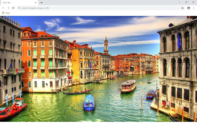 Venice New Tab & Wallpapers Collection