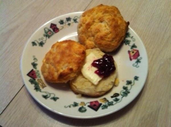 Best Buttermilk Biscuits...my breakfast this morning.  Yummmm!