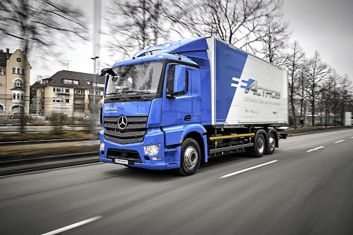 Mercedes will be trailing its eActros with customers in Europe over the next couple of years. Picture: DAIMLER