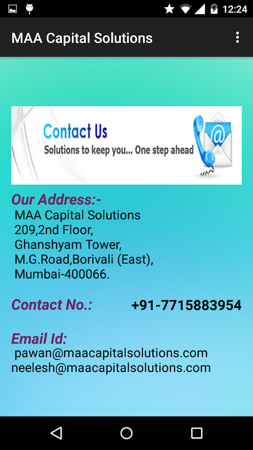 MAA Capital Solutions 1.1- screenshot