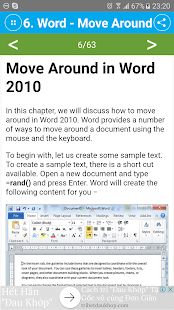 Free Word 2010 Tutorial - náhled