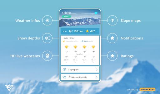 Snowthority: ski, snow, lift, slope map & ski info 1.36.0 screenshots 1
