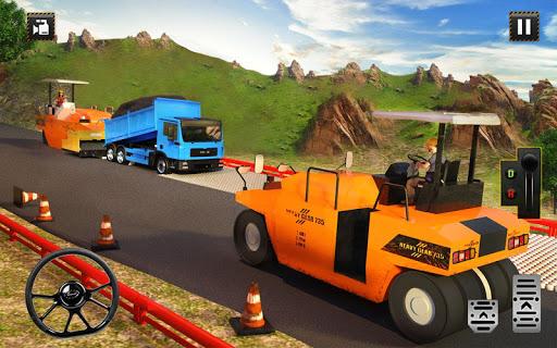 Hill Road Construction Games: Dumper Truck Driving apkpoly screenshots 9