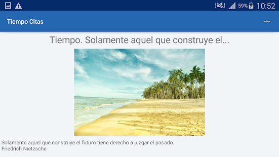 Download Tiempo Citas y frases famosas For PC Windows and Mac apk screenshot 12
