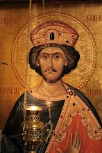 Photo: Бургас, храмовата икона на св. княз Борис - Михаил.