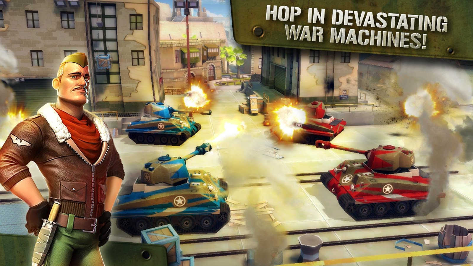 Blitz Brigade - Online FPS fun- screenshot
