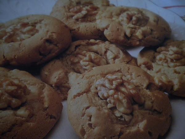 Maple Walnut Cookies Recipe