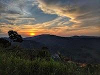 Congo sunset