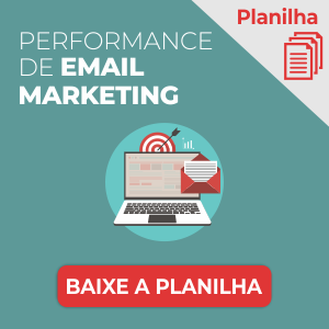 Planilha de Performance de Email Marketing