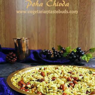 Poha Chivda | Thick Poha Chiwda Namkeen.
