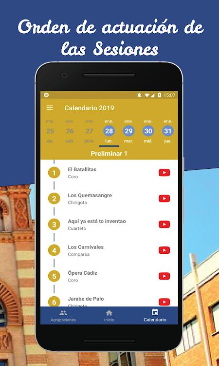 Calendario Coac 2019.Coac 2019 Comando Carnaval Cadiz Android Aplikacje Appagg