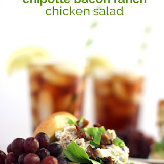 Chipotle Bacon Ranch Chicken Salad