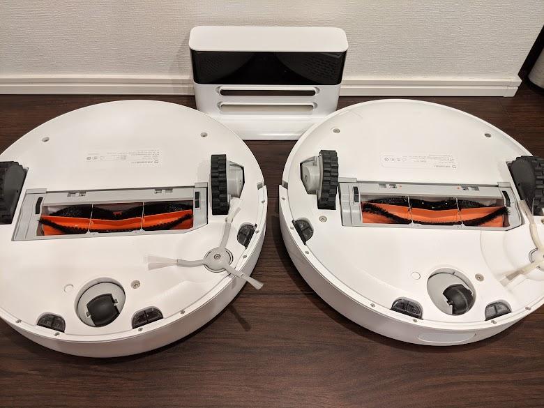 Mi Vacuum 1S と初代の裏面