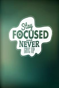 Motivational and inspirational screenshot