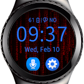 Settings for Matrix Watch
