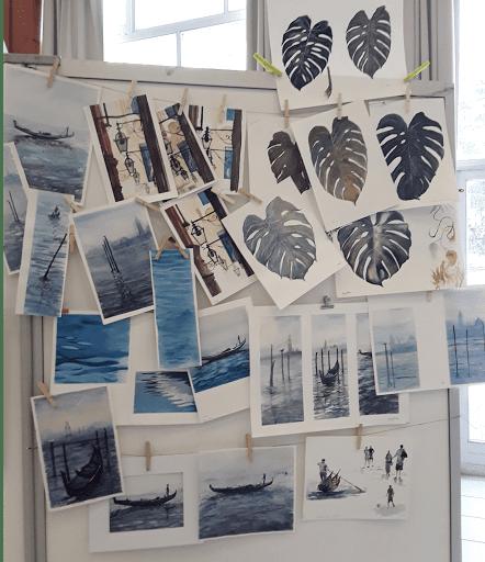 Jeanne PAPA-cours aquarelle 2018