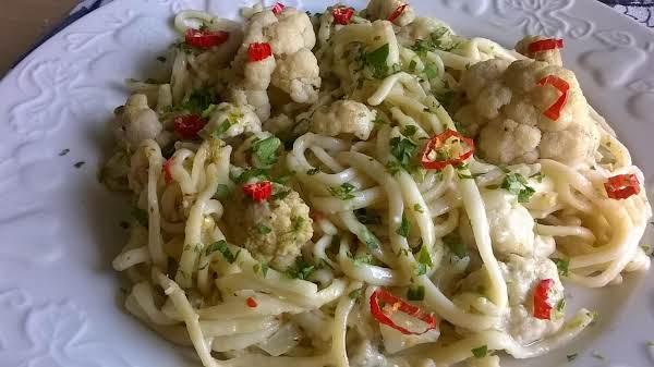 Cauliflower Pasta Recipe