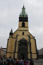 Photo: Věž kostela je vychýlena téměř od dva metry