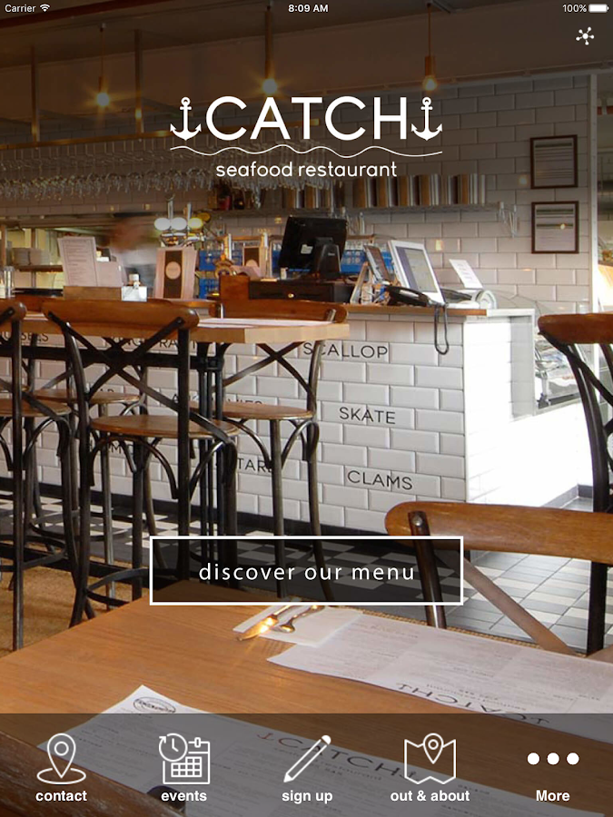 Catch Seafood Restaurants- screenshot